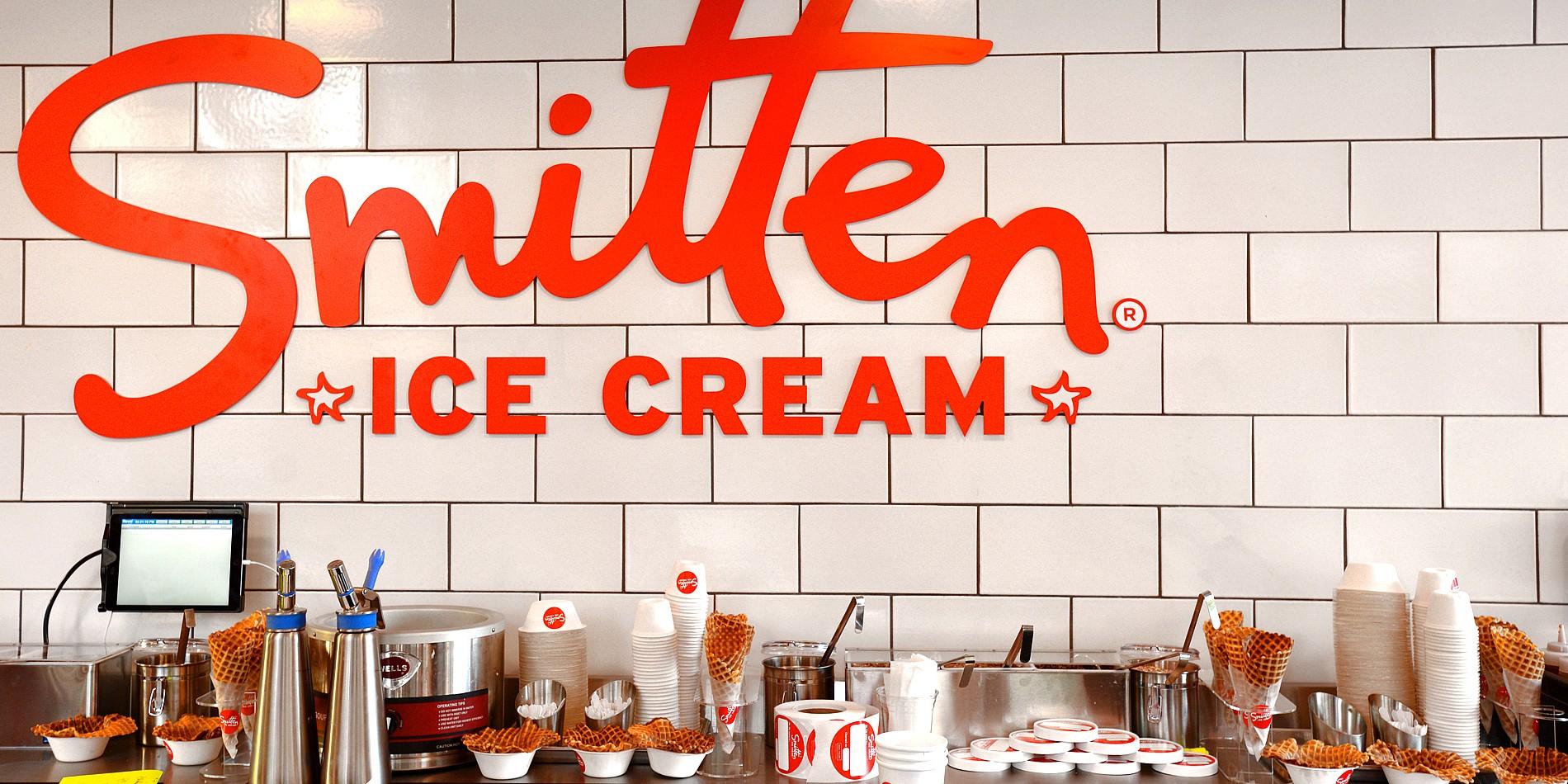 Smitten Ice Cream Logo smitten ice cream | project 13