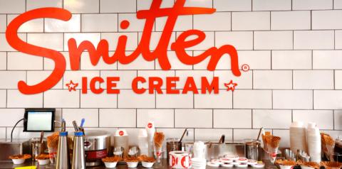 Smitten Ice Cream Website Launch